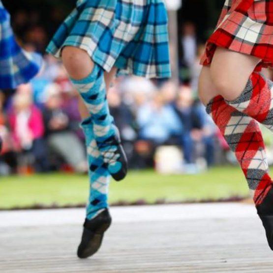 Highland Dancing Feet