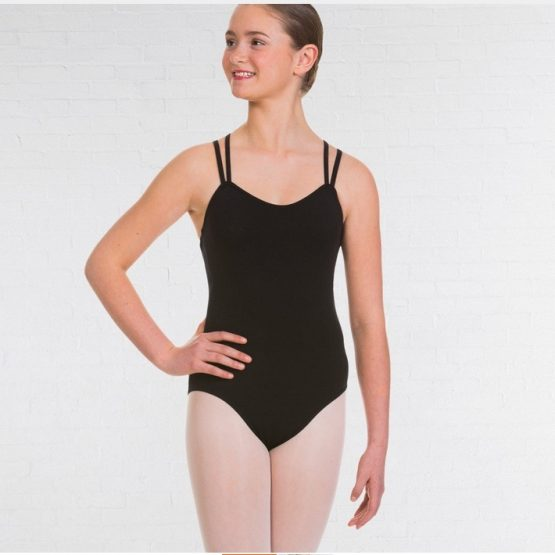 UKA Grade 5-8 and Majors Ballet & Tap Double Strap Cross Back Leotard